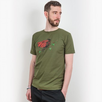 Robert Richter – Super Bird - Mens Organic Classic Cotton T-Shirt