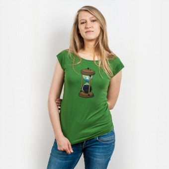 Robert Richter – Time - Ladies Organic Bamboo T-Shirt