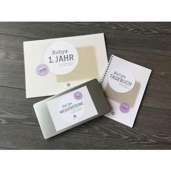 Design Verlag Tagebuch, Kalender, Karten | Baby Set zur Geburt