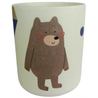 nuukk Bambus Becher Bär