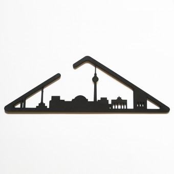 muskat18 Kleiderbügel - BERLINORAMA (5er Set)