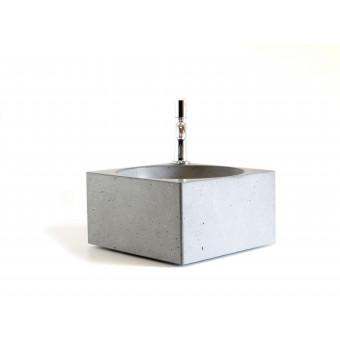 WertWerke Betonwaschbecken (glatte Oberfläche)