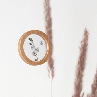 """Runde Bilderrahmen magnetisch - """"Zirkular Mini"""" 2er Set   + Acrylscheiben von Lumenqi"""