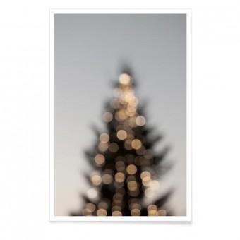 "nahili ARTPRINT / POSTER ""Merry Merry Christmas"" eco Tannenbaum (DIN A1/A3 & 50x70cm)"
