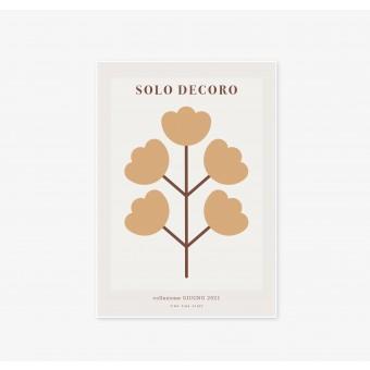 FINE FINE STUFF - Poster - Solo Decoro - Yellow Flower