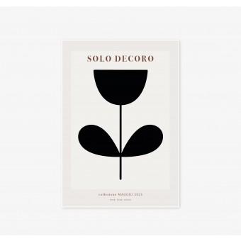 FINE FINE STUFF - Poster - Solo Decoro - black 01 - 30x40