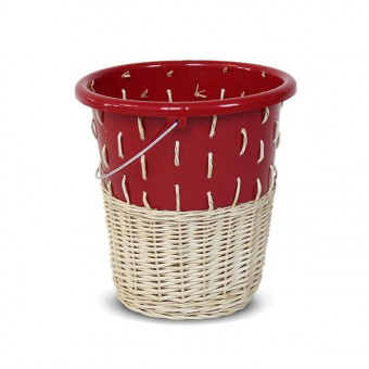 "Papierkorb ""Bow Bin No.1 Ruby Red"""