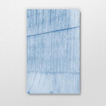 Blaupause – Annäherung, Cyanotypie auf Multiplex