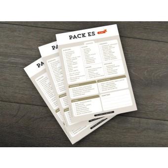 Design Verlag Notizblock - Pack es ein! (3er-Set)