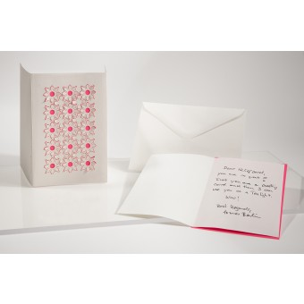 formes Berlin Frühlingsset, 3 Karten - Reliefkarte mit gelasertem Motiv, Einlegern und  Umschlag