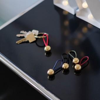kosp design – Brass Ball Schlüsselanhänger
