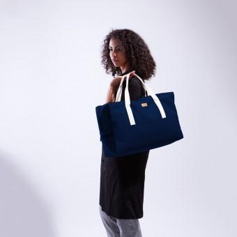MULINU Reisetasche CLASSIC LASSE Blau