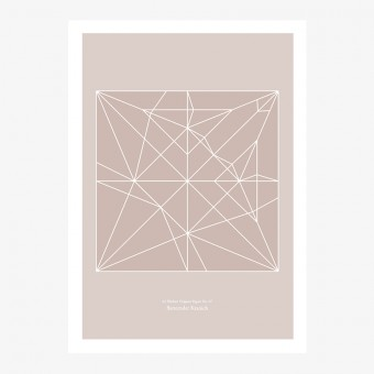 Origami Print Kranich von Christina Pauls