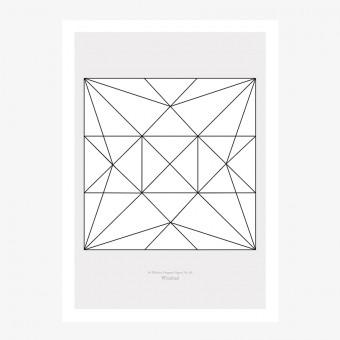 Origami Print Windrad von Christina Pauls