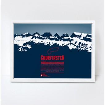 Marmota Maps – Churfirsten - Bergdruck