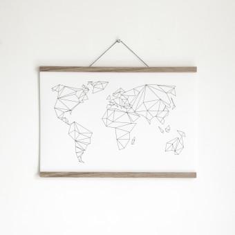 Artprint inkl. magnetischer Posterleiste A1, Click - On - Frame, Rahmen