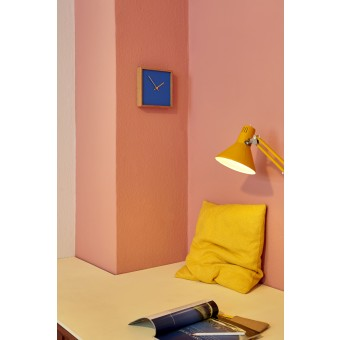 the square - blau | Constantin Lindner | Wanduhr Standuhr Uhr