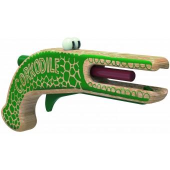Corkodile, Korkenpistole als Krokodil - von Neue Freunde