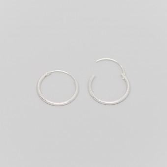 fejn jewelry - Creole 'simple hoop S'