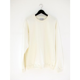 AnotherBlank OVERSIZED CREWNECK OFF-WHITE 275G AB_CN_M_010