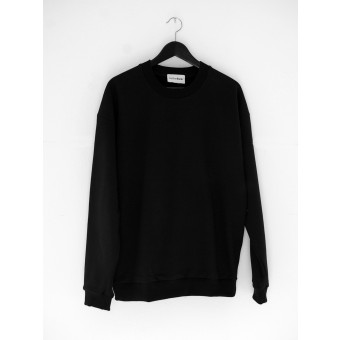 AnotherBlank OVERSIZED CREWNECK BLACK 275G AB_CN_M_010
