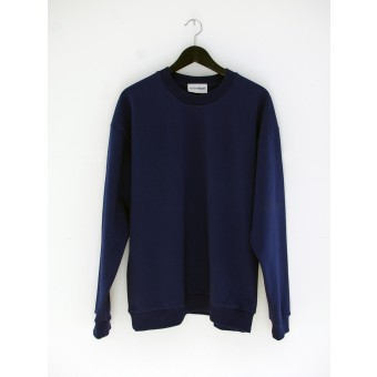 AnotherBlank OVERSIZED CREWNECK NAVY 275G AB_CN_M_010