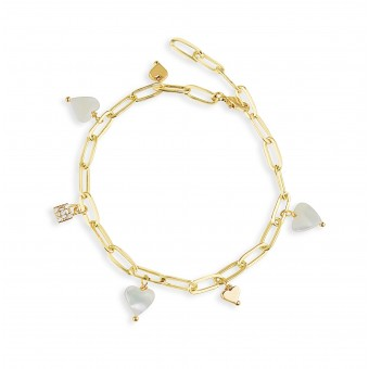 Valerie Chic - ENDLESS LOVE Armband - 18 Karat vergoldet