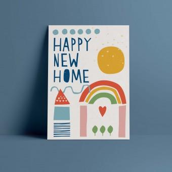 Designfräulein // Postkarte // Happy New Home