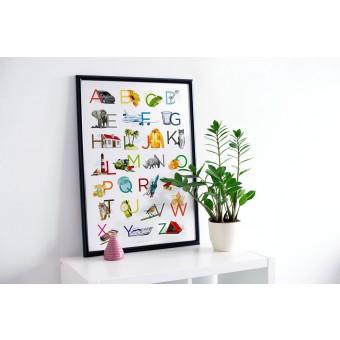 ABC Plakat / Alphabet Poster