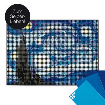 dot on art / van gogh – DIY-Kunstwerk zum Selberkleben / 50x70 cm