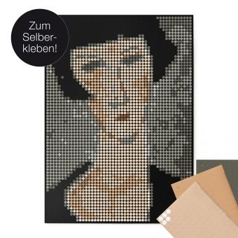 dot on art / modigliani – DIY-Kunstwerk zum Selberkleben / 50x70 cm