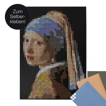 dot on art / vermeer – DIY-Kunstwerk zum Selberkleben / 50x70 cm