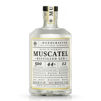 MUSCATEL DISTILLED GIN (0,5l)