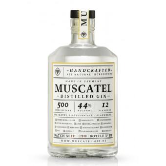 MUSCATEL DISTILLED GIN (0,5l)