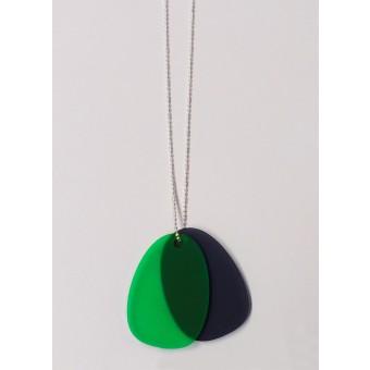 theobalt.design TAG necklace black/green