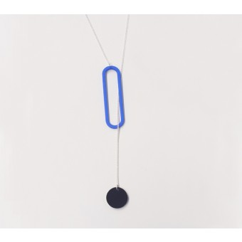 theobalt.design PULL necklace blue