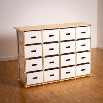 16boxes - Fourbyfour (4x4) - Sideboard