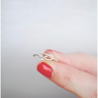iloveblossom INFINITY RING // silver