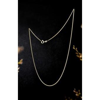 stahlpink – Kettchen aus nachhaltigem recyceltem Silber, 45cm