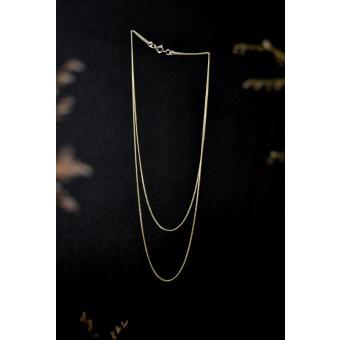 stahlpink – 2-er Kettchen aus nachhaltigem recyceltem Silber