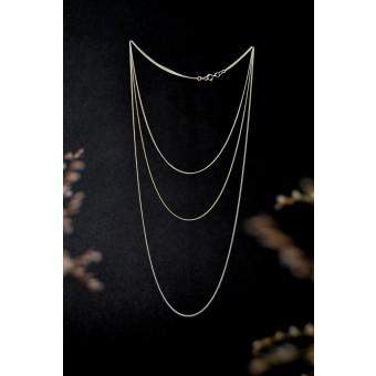 stahlpink – 3-er Kettchen aus nachhaltigem recyceltem Silber
