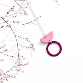 stahlpink – Nachhaltige Halskette: LU