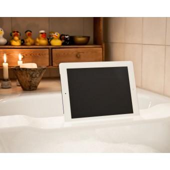 WOOD U? WAVE - Halterung / Halter für iPad und Tablet für die Badewanne
