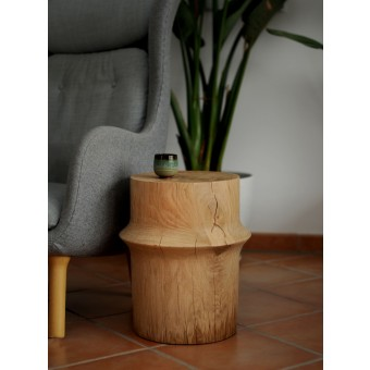 OnePieceWood – couchtisch -simple orient shape - natural oak