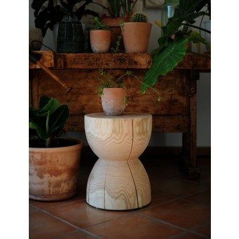 OnePieceWood – couchtisch - hourglass - natural oak