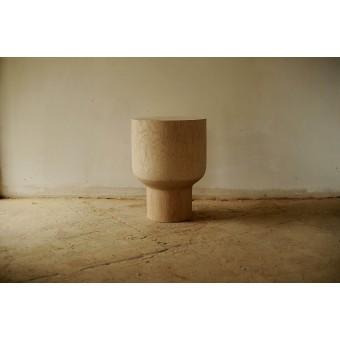 OnePieceWood, Nachttisch/Couchtisch, massive Eiche, 36x46cm