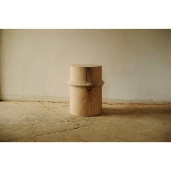 OnePieceWood, Nachttisch/Couchtisch, massive Eiche, 36x45cm