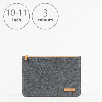 RÅVARE Tablet Sleeve Case Hülle mit Reißverschluss für verschiedene Modelle in Größe S und in verschiedenen Farben [DAKOTA S]