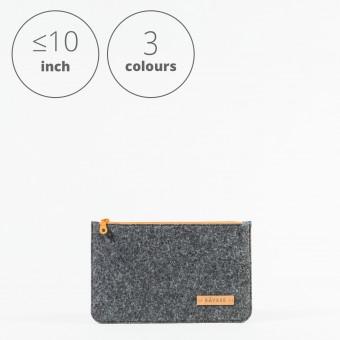 RÅVARE Tablet Sleeve Case Hülle mit Reißverschluss für verschiedene Modelle in Größe XS und in verschiedenen Farben [DAKOTA XS]