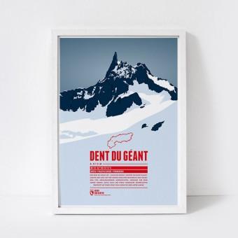Marmota Maps – Dent du Géant - Bergdruck